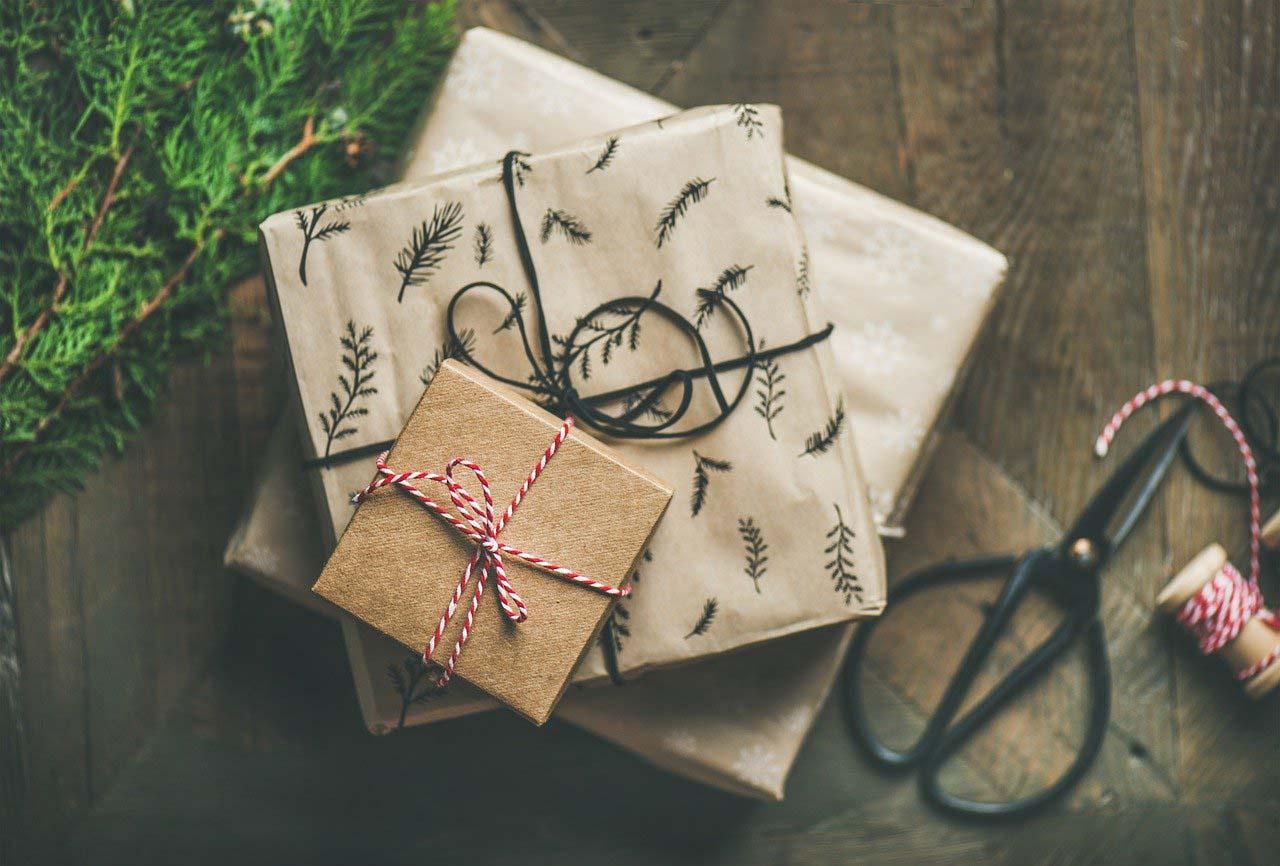 Weihnachtspackerln